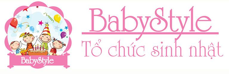 BabyStyle Tổ chức sinh nhật cho bé