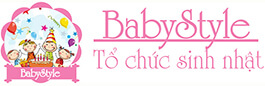 Baby Style - Tổ chức sinh nhật cho bé