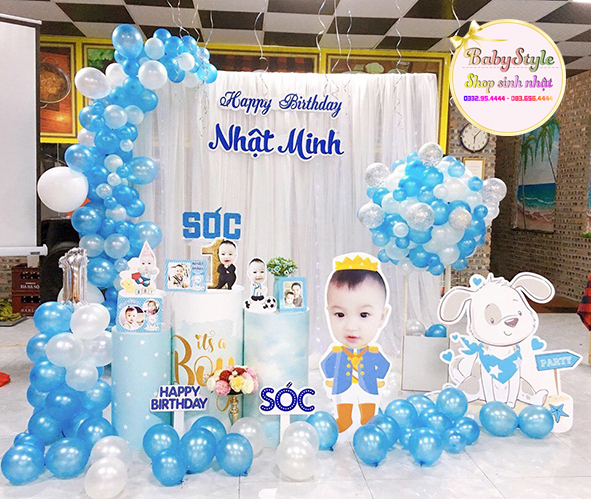 Gói trang trí sinh nhật cho bé Sl02
