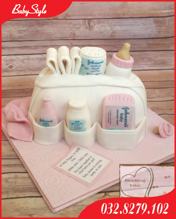 Bánh sinh nhật chủ đề Bỉm Sữa