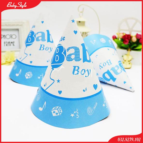 Mũ trang trí sinh nhật Baby Boy