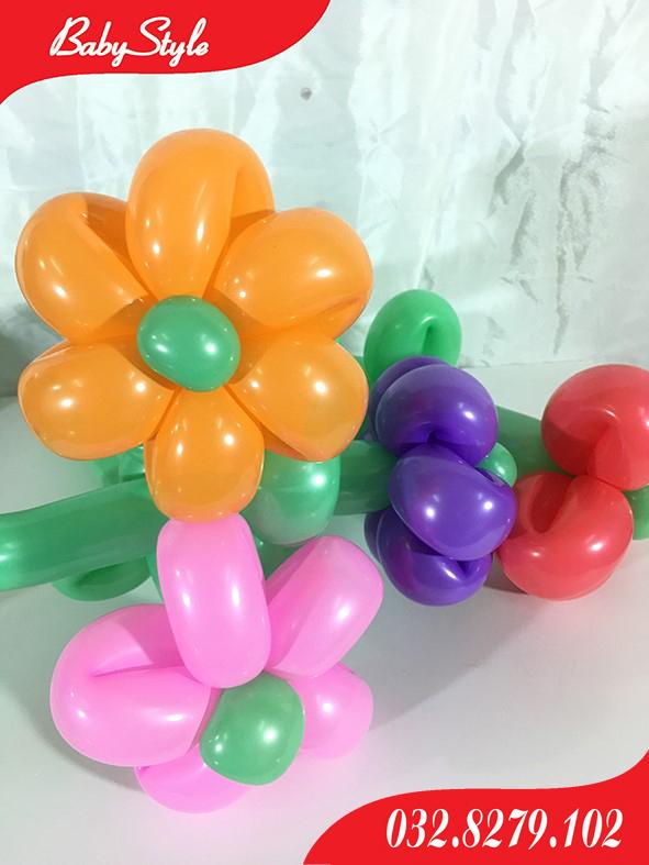 Bóng bay nghệ thuật hình bông hoa