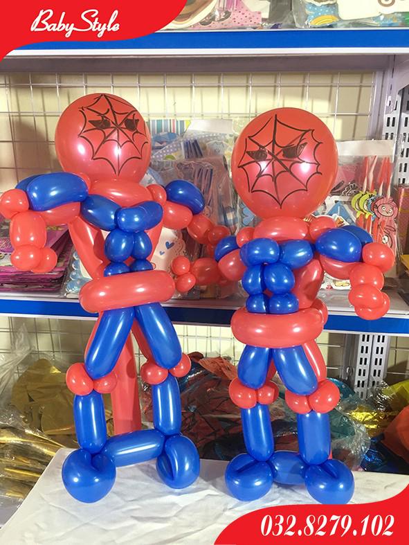 Bóng bay nghệ thuật hình Spiderman
