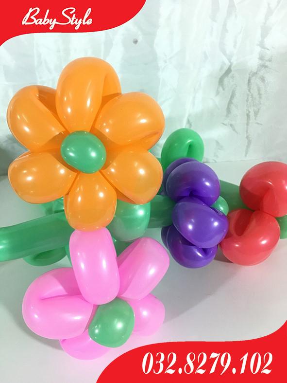 Bóng nghệ thuật hình bông hoa