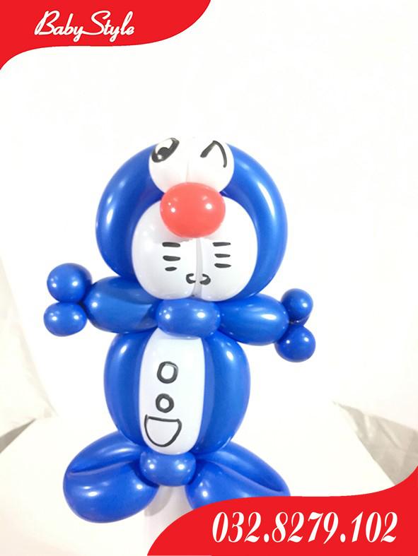Bóng nghệ thuật mèo máy Doremon