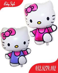 Bóng trang trí sinh nhật hình Hello Kitty