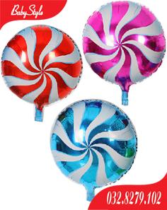 Bóng kẹo sử dụng trong trang trí sinh nhật