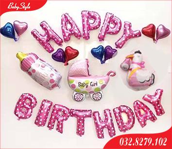 Set bóng trang trí sinh nhật cho bé tuổi Gà