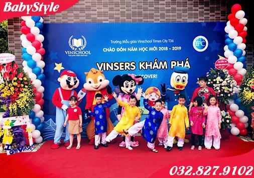 Dịch vụ cho thuê Mascot biểu diễn tại Hà Nội