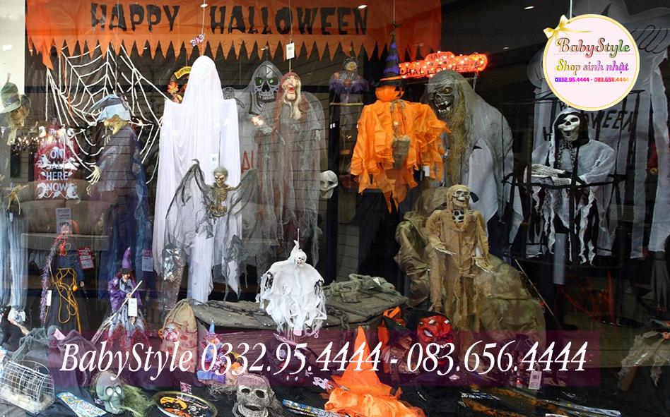 Hình ảnh cửa hàng bán đồ trang trí Halloween ở tại Hà Nội