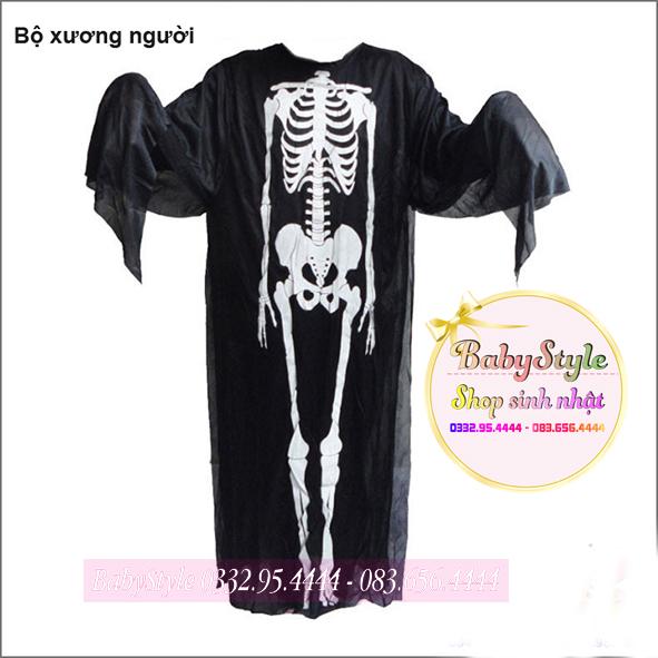 Trang phụ bộ xương người - Trang phục thần chết