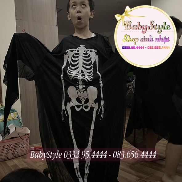 Áo choàng bộ xương người