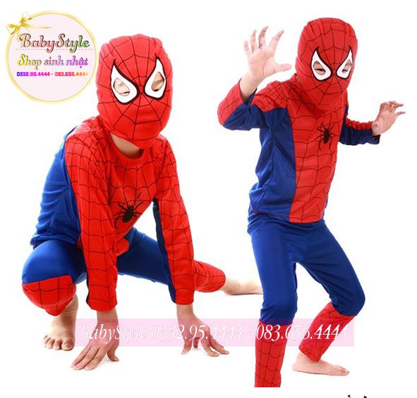 Trang phục Halloween hình người nhện