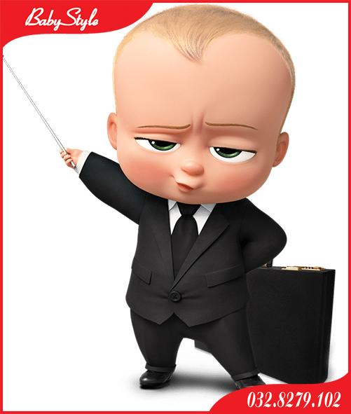 làm hình chibi cho bé Boss Baby