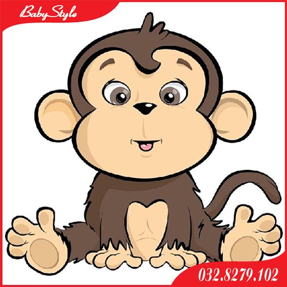 Hình chibi khỉ con