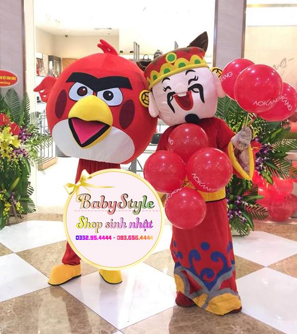 Hình ảnh mascot thần tài ở Hà Nội trong sự kiện
