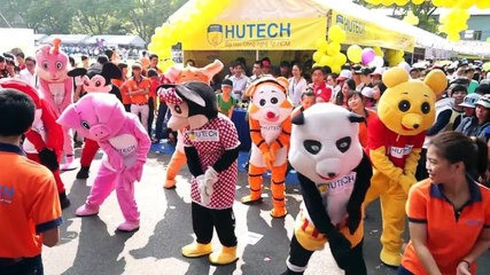 hình ảnh các bộ mascot trong các sự kiện nổi tiếng