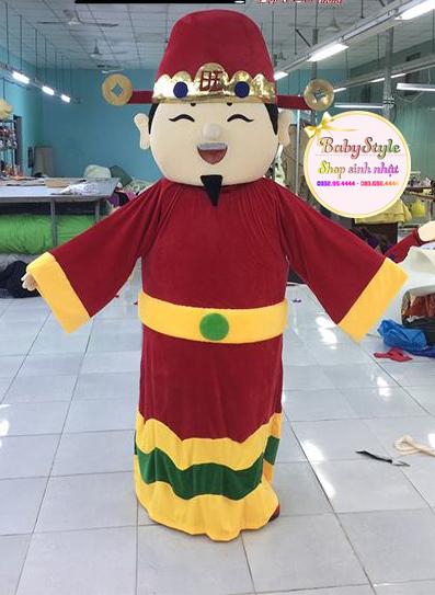 Hình ảnh dịch vụ thuê mascot thần tài ở Hà Nội