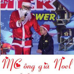 Thuê dịch vụ ông già Noel làm MC hoạt náo