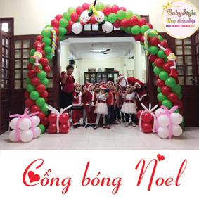 Dịch vụ trang trí cổng bóng Noel