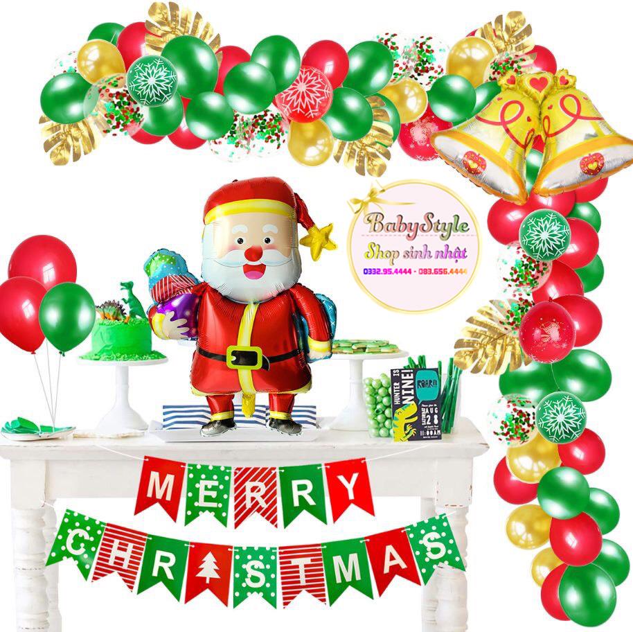 Mẫu trang trí phông Noel