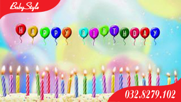 Số lượng nến cắm bánh sinh nhật trong mỗi hộp là 24 cái, trong hộp có kèm đế cắm nến.