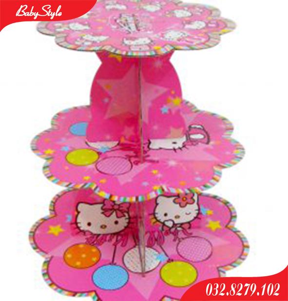 Tháp bánh Hello Kitty