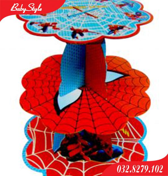 Tháp bánh sinh nhật Spiderman