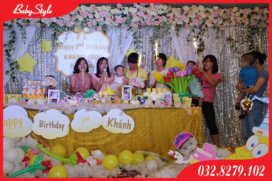 Tổ chức sinh nhật cho bé Khánh Ngọc