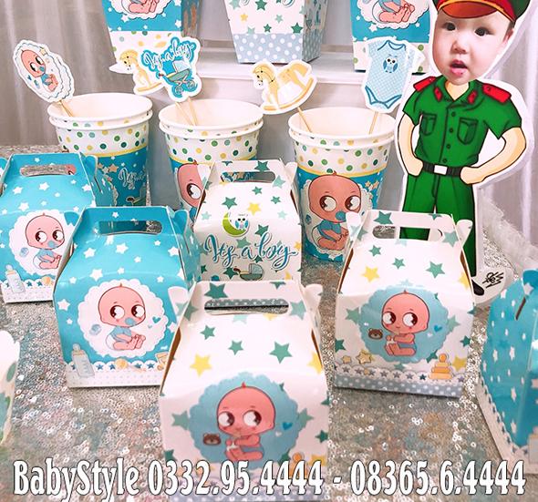 Hộp quà sinh nhật chủ đề Baby Boy