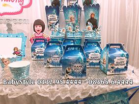 Hình ảnh sét phụ kiện sinh nhật Elsa 1