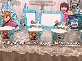 Hình ảnh sét phụ kiện sinh nhật Elsa 3
