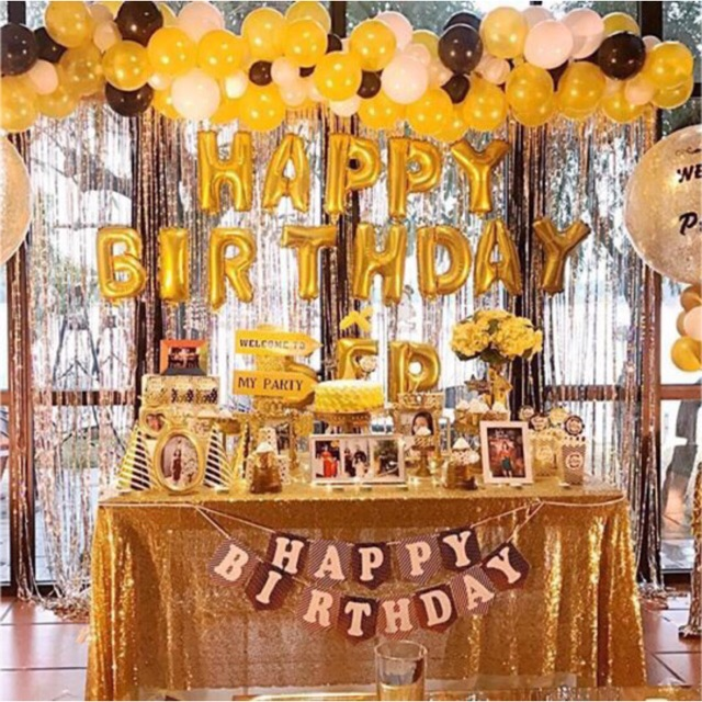 phụ kiện trang trí sinh nhật cho người lớn