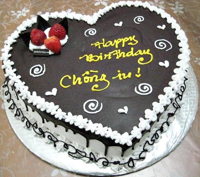 trang trí bánh kem sinh nhật