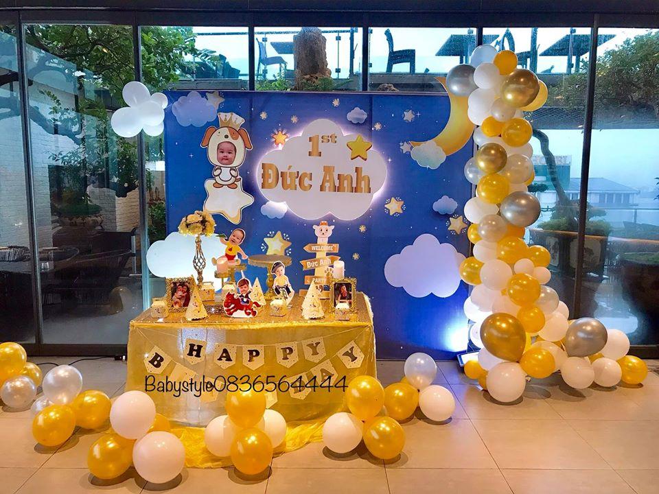 Bóng bay nghệ thuật trang trí sinh nhật tại quận Hà Đông