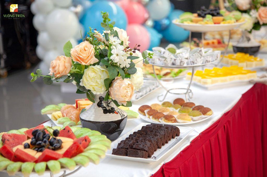 Các món ăn khai vị trong bữa tiệc sinh nhật