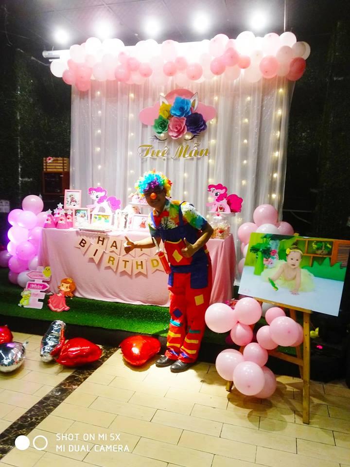 chú hề tổ chức sinh nhật