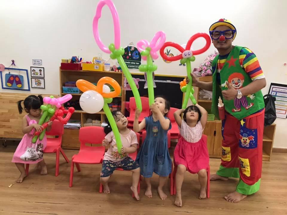 chú hề lucky tổ chức các bữa tiệc sinh nhật