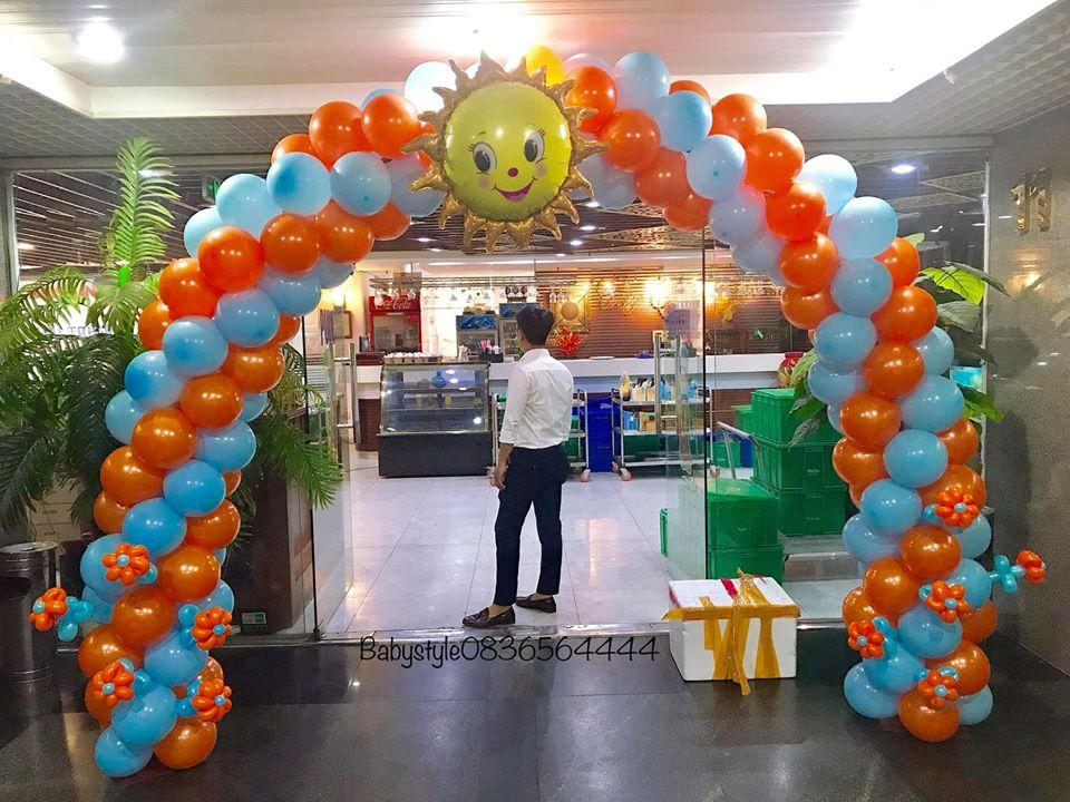 Cổng bóng bay nghệ thuật giá rẻ tại Hà Nội