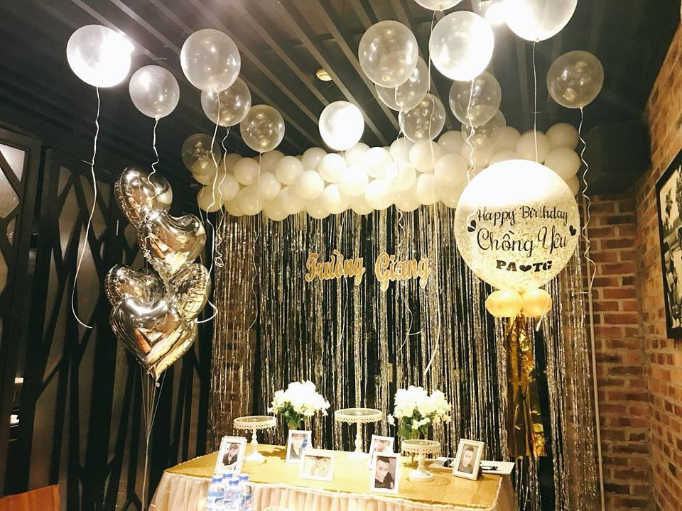 không gian sinh nhật rộng