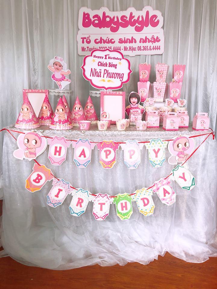 mẫu phụ kiện trang trí sinh nhật cho bé