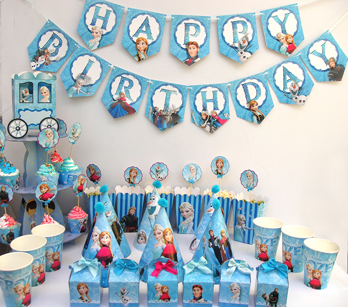 Phụ kiện trang trí sinh nhật cho bé tại quận Đống Đa