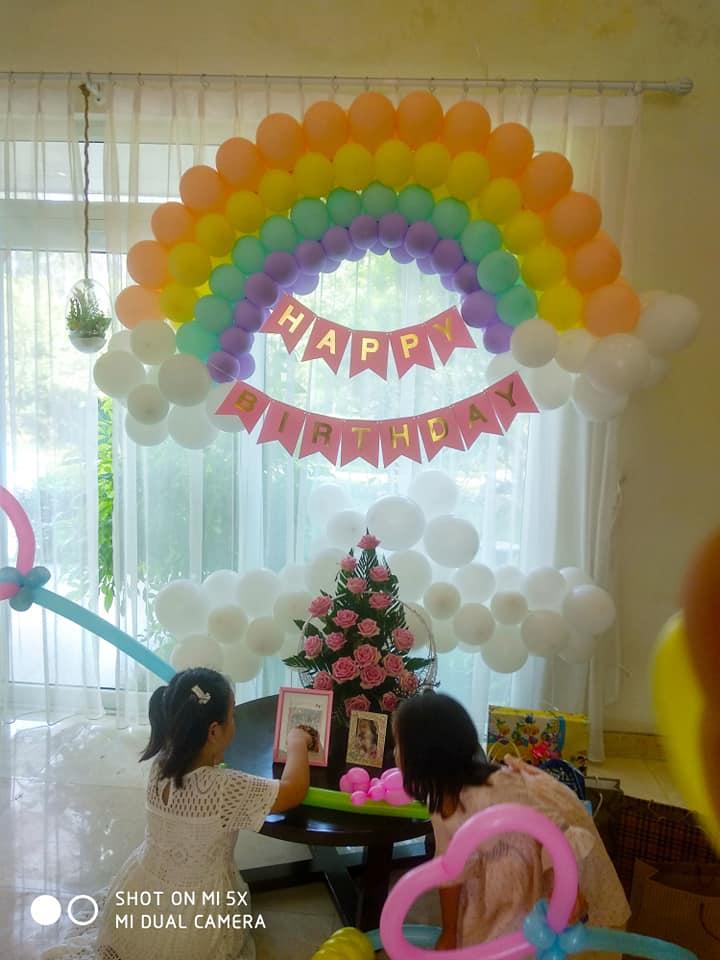 dịch vụ tổ chức sinh nhật tại nhà