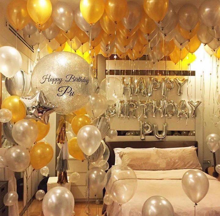 sử dụng bóng bay có khí hidro trong trang trí sinh nhật