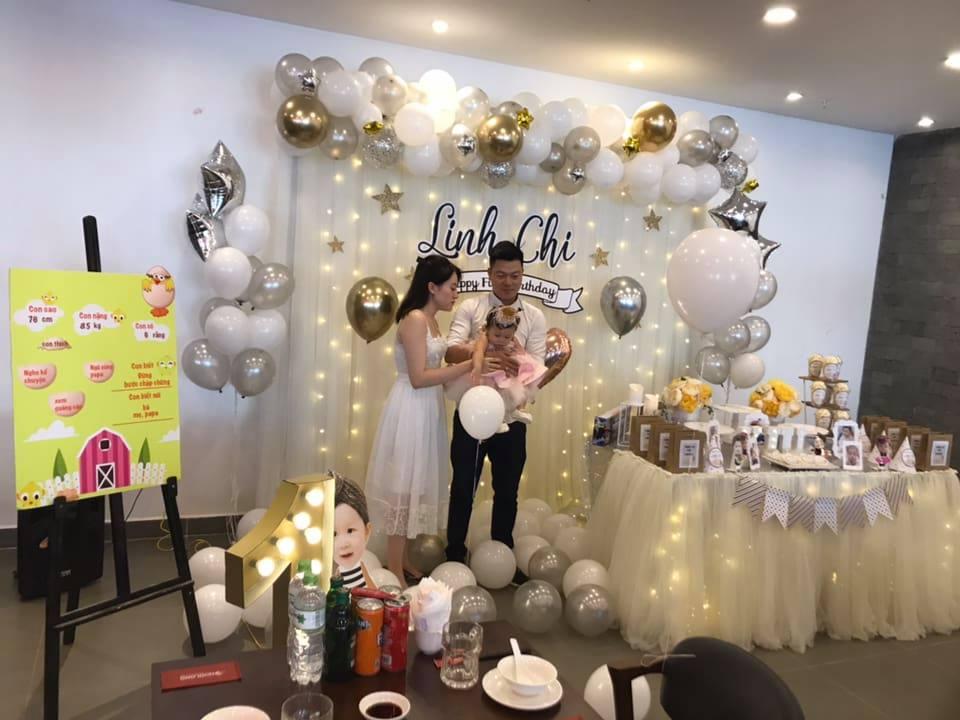 tổ chức sinh nhật tại nhà cho bé