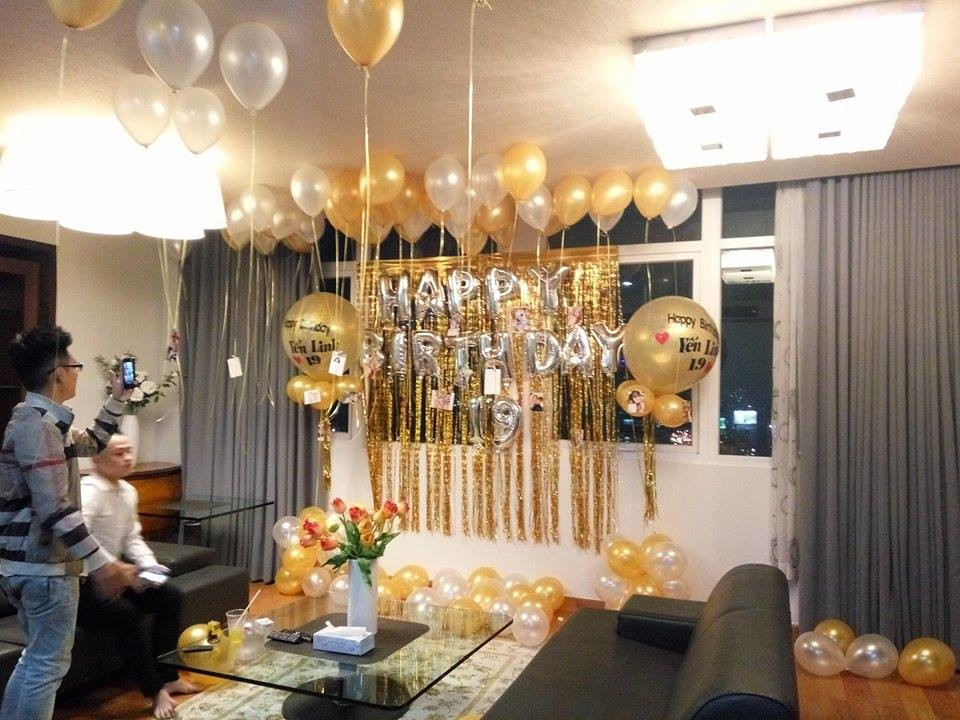 trang trí không gian sinh nhật