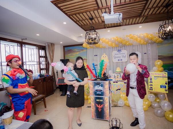 Shop Babystyle còn cung cấp dịch vụ tổ chức sinh nhật cho bé chọn gói