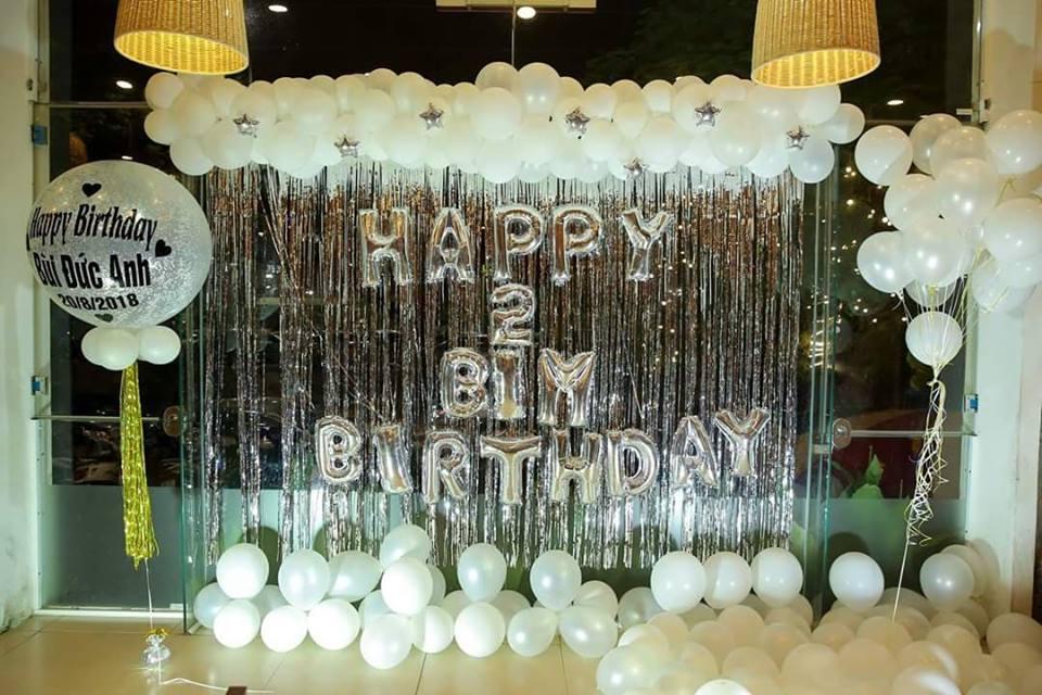 trang trí sinh nhật tại nhà