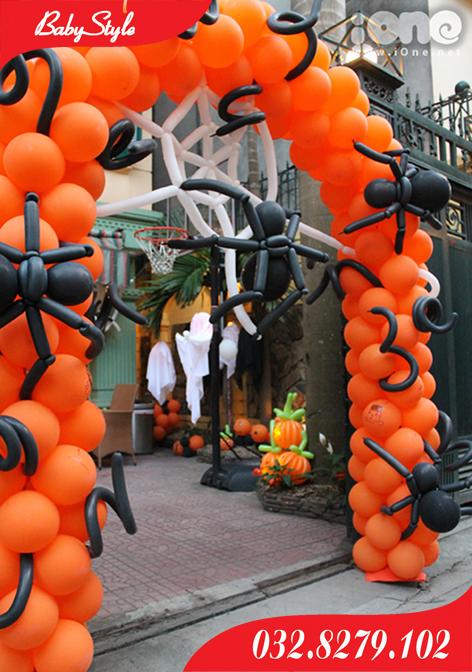 cổng bóng halloween số 1